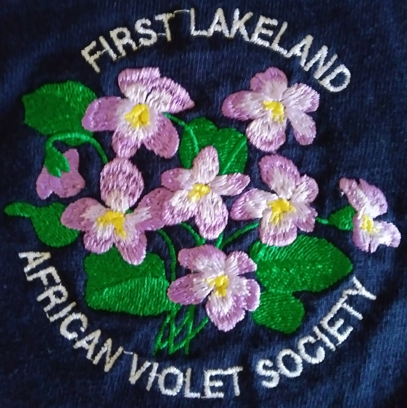 First Lakeland African Violet Society Logo